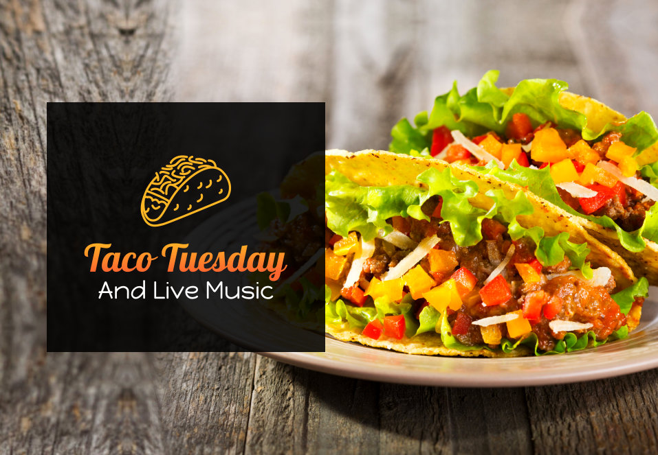 taco tuesday and live music